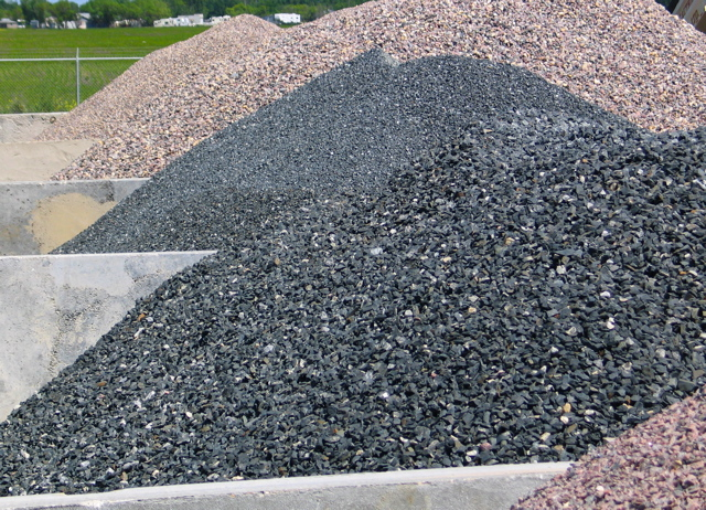 Crushed Granite Gravel : Masonry materials crushed stone